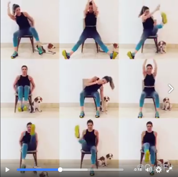 Exercise in Your Chair